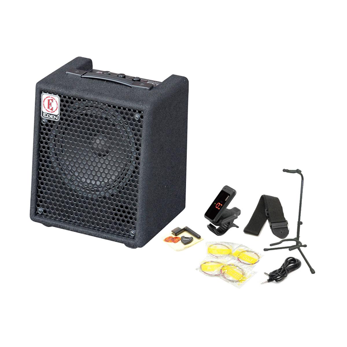 憧れの EDEN/ Starter EC8 Bass Amp Set Starter Set【これさえあれば EC8、すぐに練習が始められる!ベース用アンプ&アクセサリーの充実スターターセット!】【YRK】, カシマグン:b0d381ef --- canoncity.azurewebsites.net