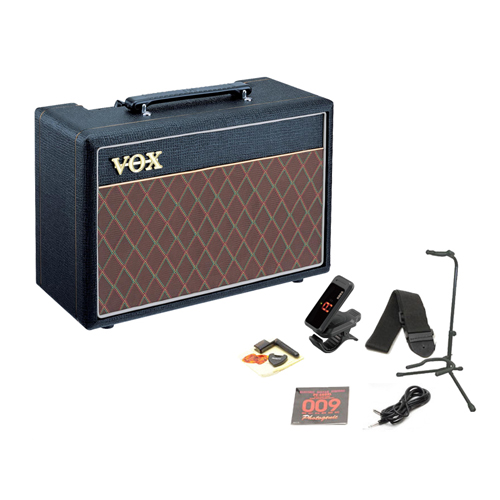 VOX / PF10 Pathfinder 10 Guitar Amp Starter Set 【これさえあれば、すぐに練習が始められる!エレキギター用アンプ&アクセサリーの充実スターターセット!】【YRK】