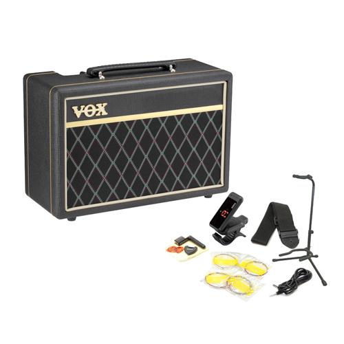 VOX / PFB10 Pathfinder Bass 10 Bass Amp Starter Set 【これさえあれば、すぐに練習が始められる!ベース用アンプ&アクセサリーの充実スターターセット!】【YRK】