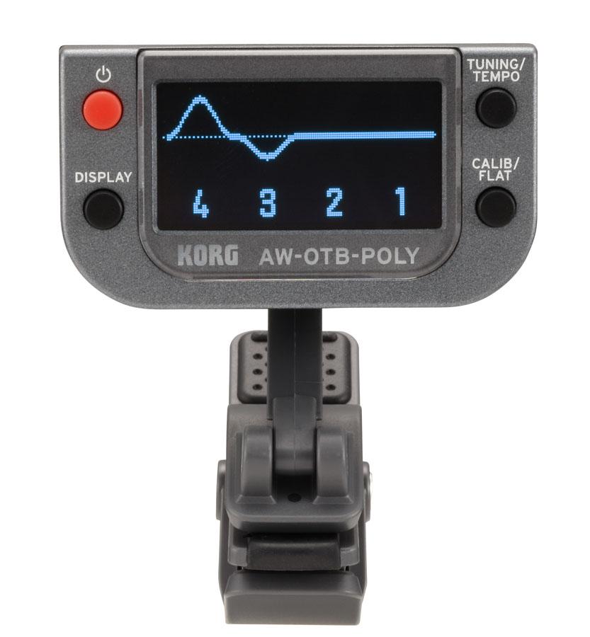 KORG / AW-OTB-POLY Polyphonic Clip-On Tuner コルグ ベース用クリップチューナー【お取り寄せ商品】【YRK】