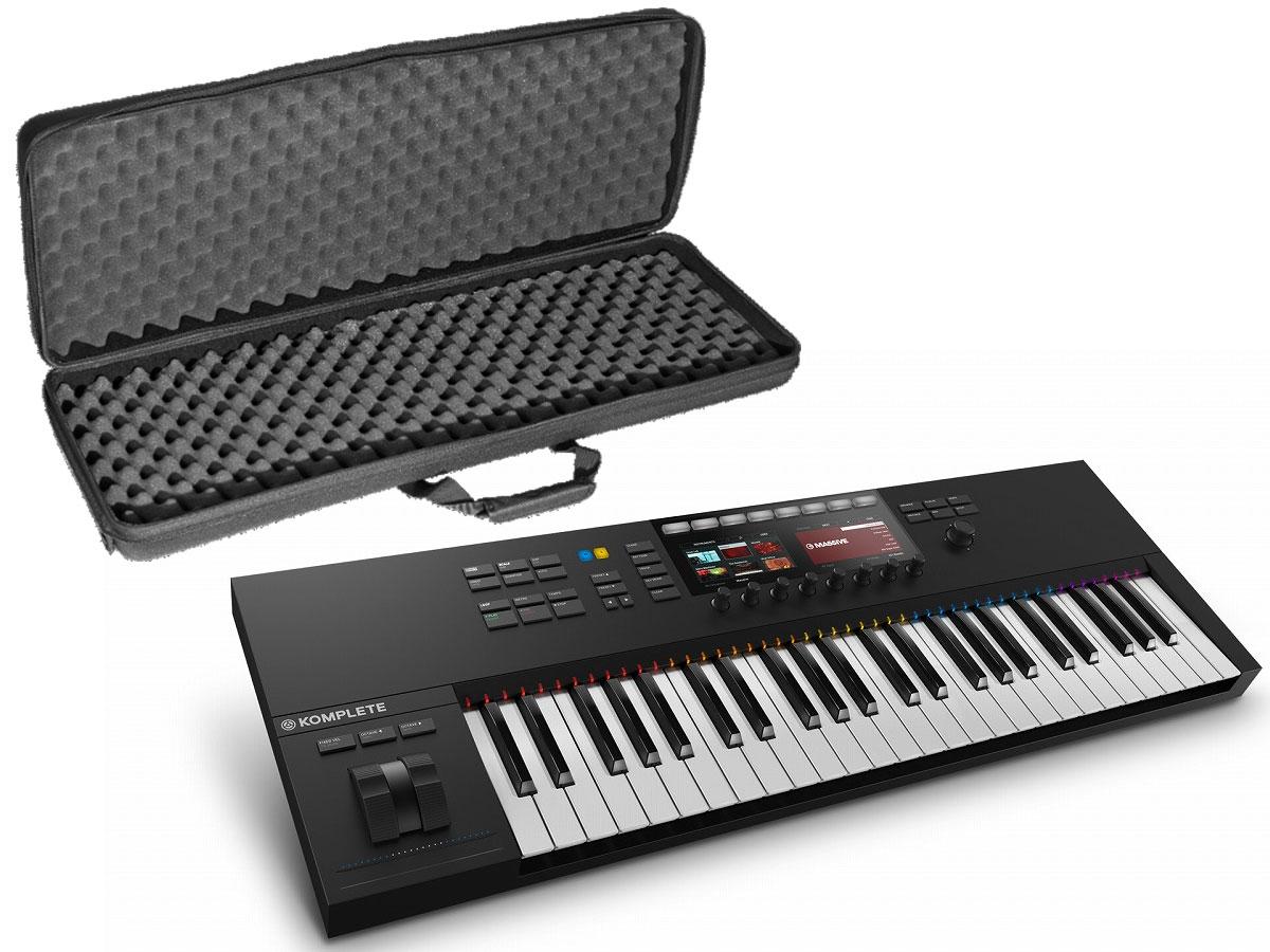 輝い Native Instruments ネイティブインストゥルメンツ / KOMPLETE KONTROL S49 2 【UDGハードケースセット!】 MIDIキーボード, オーディオ逸品館 b50a5964