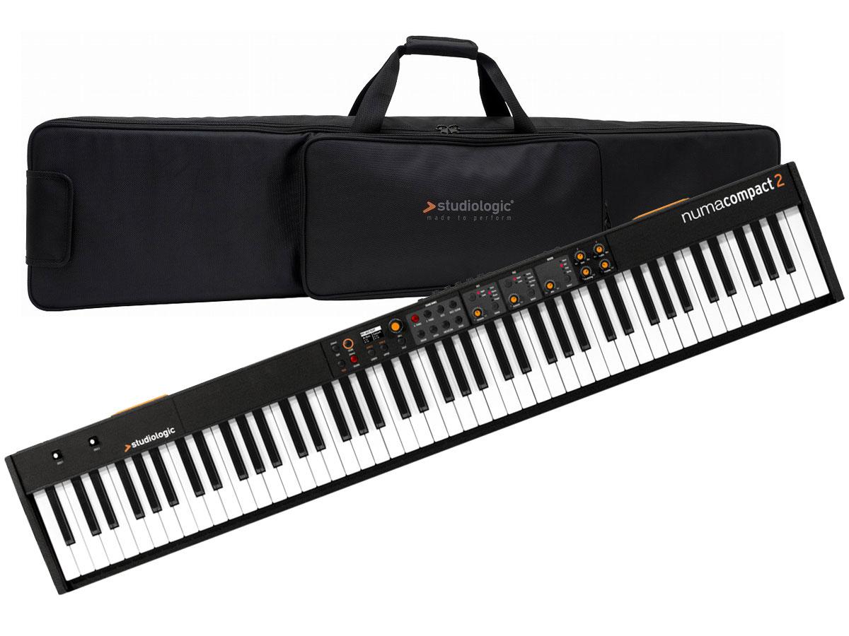 【タイムセール:26日12時まで】【在庫あり】Studiologic スタジオロジック / Numa Compact 2 【専用ソフトケースセット!】 ステージ・ピアノ