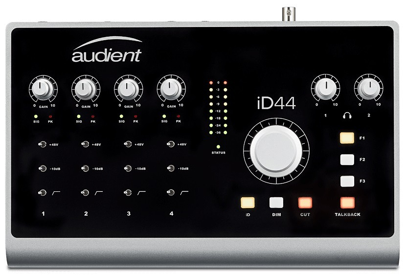 audient オーディエント / iD44 オーディオインターフェイス 【お取り寄せ商品】