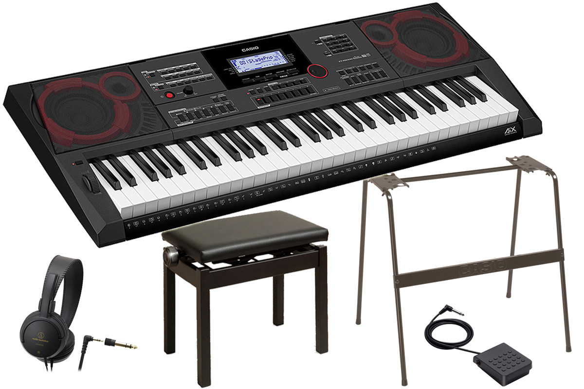 CASIO カシオ / CT-X5000 【オプションセット!】ハイグレードキーボード