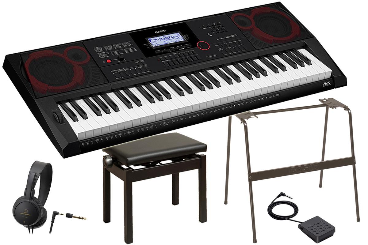CASIO カシオ / CT-X3000 【オプションセット!】ハイグレードキーボード