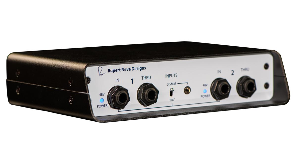 Rupert Neve Designs ルパートニーヴデザイン / RNDI-S 2チャンネルDIボックス 【お取り寄せ商品】
