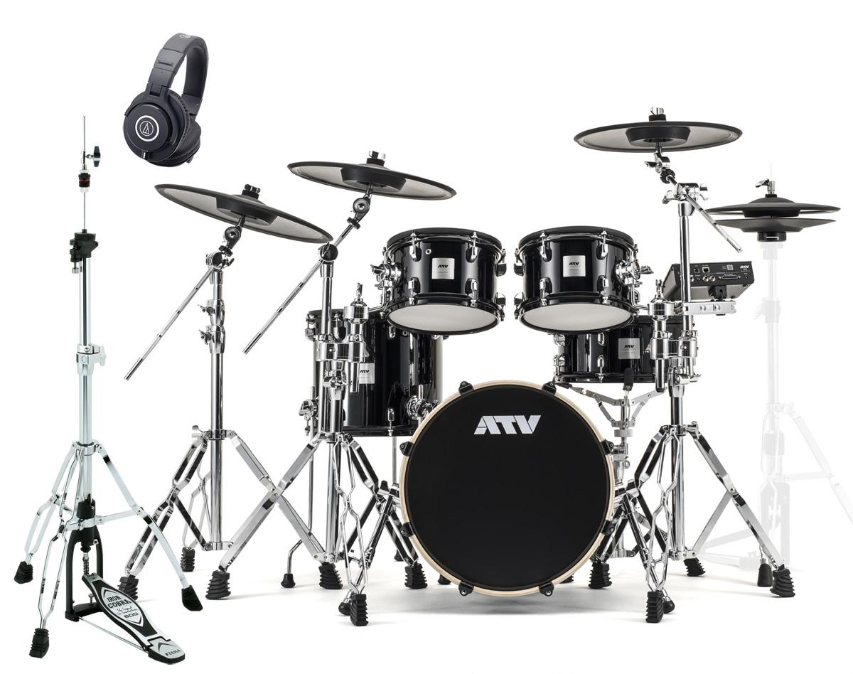 ATV / aDrums artist Expanded Set ADA-EXPSET TAMAハイハットスタンドとM40xモニターヘッドホンセット