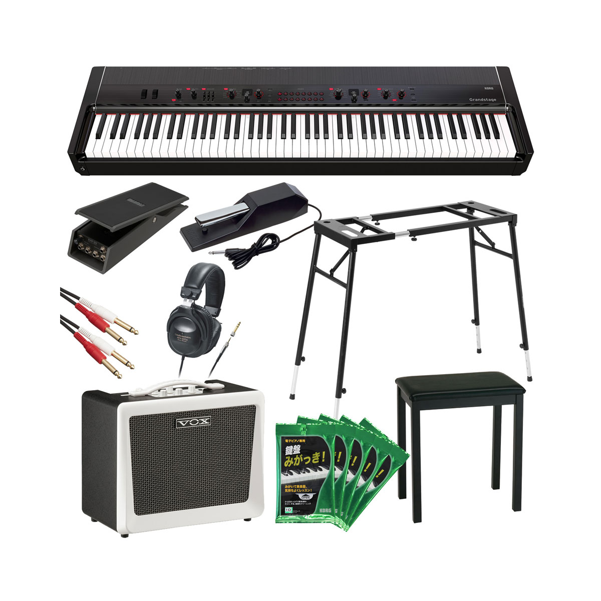 KORG コルグ / Grandstage (GS1-88) 【超豪華オプションセット】 88鍵 ステージ・ピアノ【YRK】