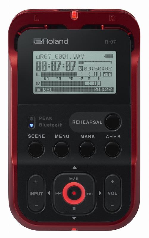 Roland ローランド / R-07 RD レッドカラー オーディオ・レコーダー【YRK】