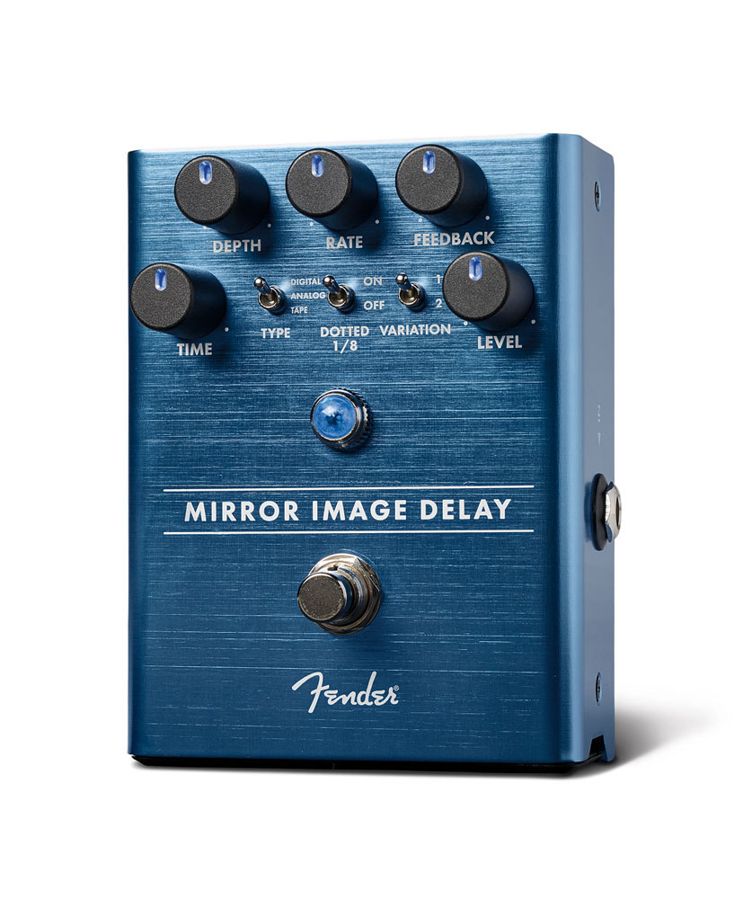 Fender / Mirror Image Delay Pedal フェンダー ディレイ《お買い上げでFender純正パッチケーブルプレゼント!/+811165600》