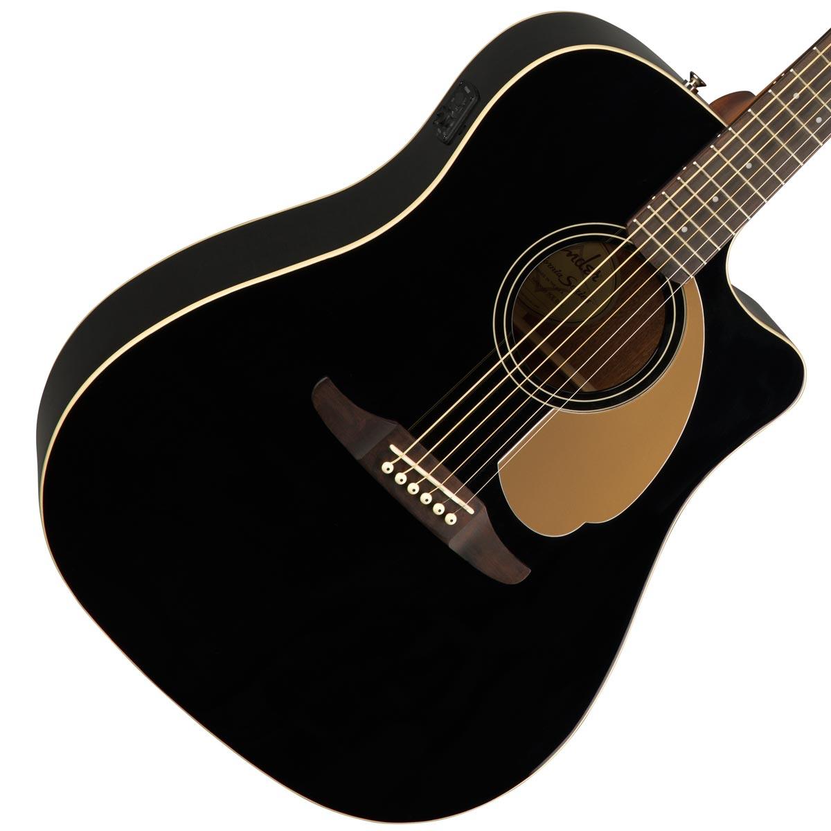 FENDER / REDONDO PLAYER Jetty Black (JTB) 【CALIFORNIA SERIES】フェンダー アコースティックギター【YRK】