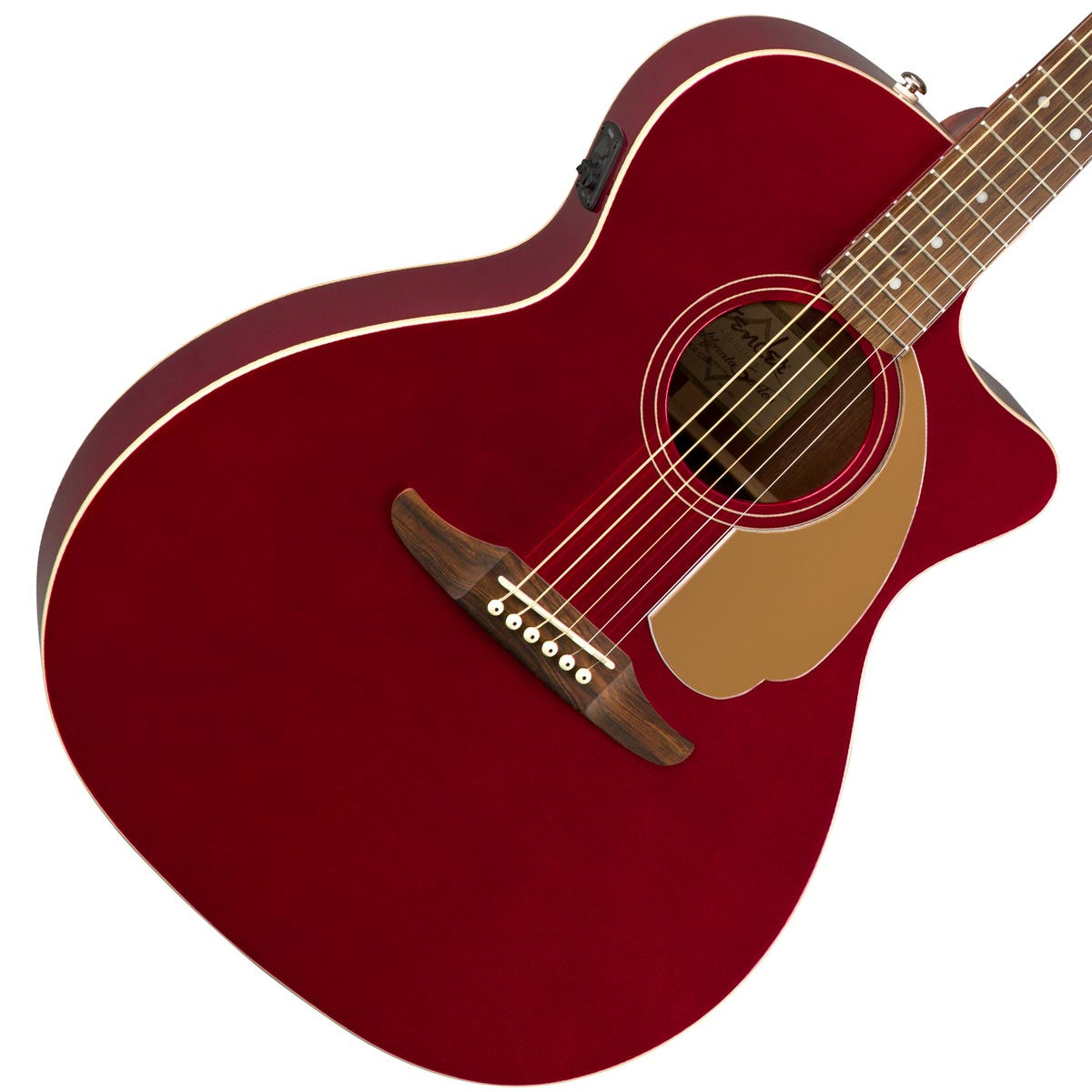 FENDER / NEWPORTER PLAYER CANDY APPLE RED (CAR)【CALIFORNIA SERIES】フェンダー アコースティックギター【YRK】