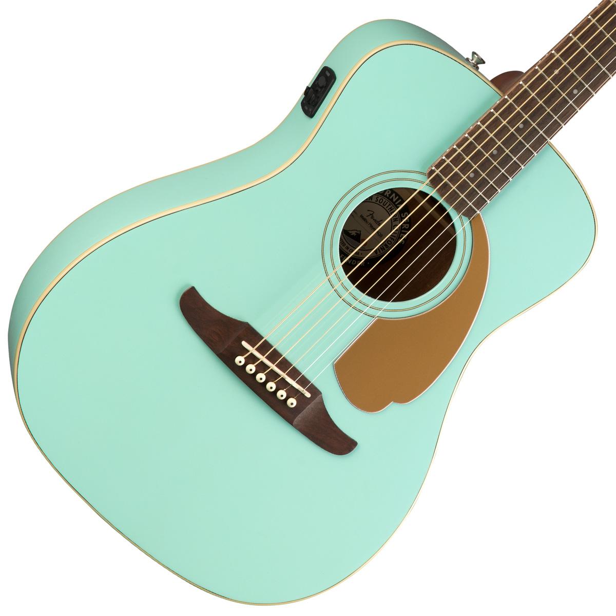 【タイムセール:29日12時まで】FENDER / MALIBU PLAYER AQUA SPLASH (AQS)【CALIFORNIA SERIES】アコースティックギター【YRK】【新品特価】