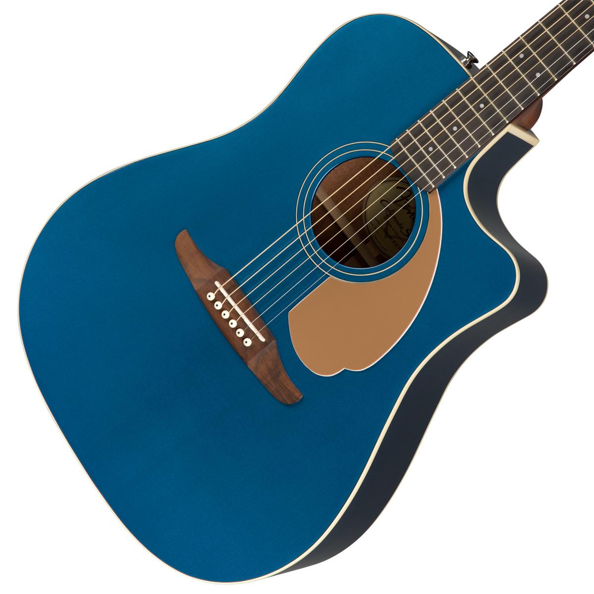 【タイムセール:29日12時まで】【在庫有り】 FENDER / REDONDO PLAYER BELMONT BLUE (BLBW) 【CALIFORNIA SERIES】アコースティックギター【YRK】【新品特価】