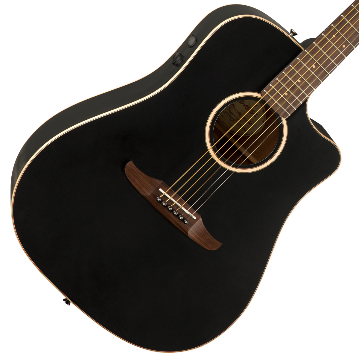 FENDER / REDONDO SPECIAL Matte Black (MBK) 【CALIFORNIA SERIES】フェンダー アコースティックギター