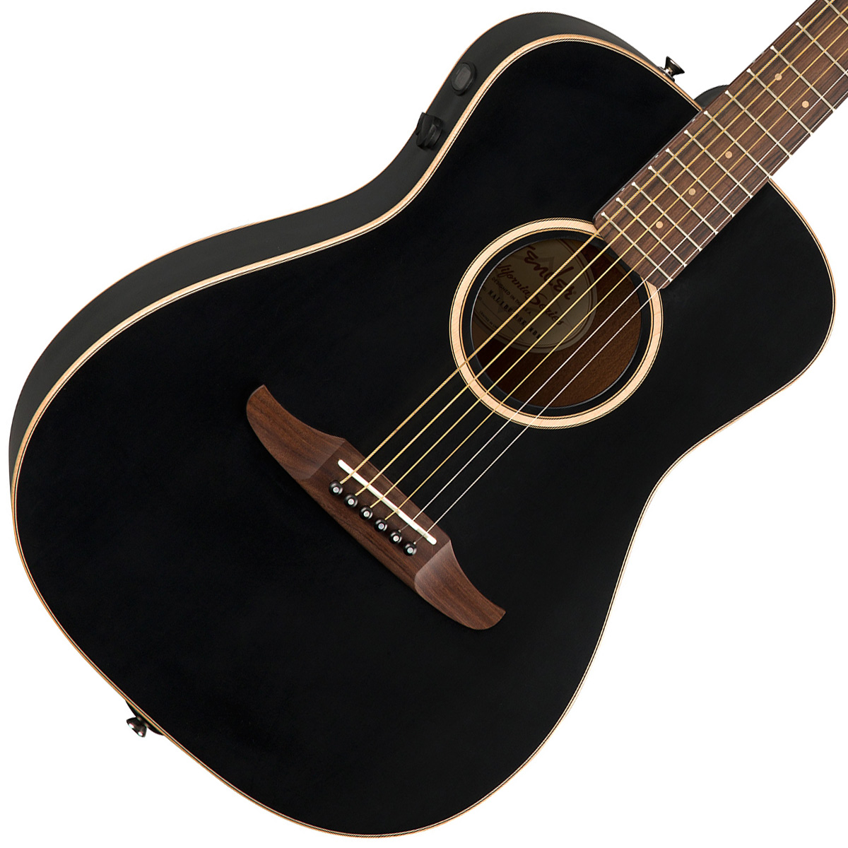 FENDER / MALIBU SPECIAL Matte Black (MBK) 【CALIFORNIA SERIES】フェンダー アコースティックギター【YRK】