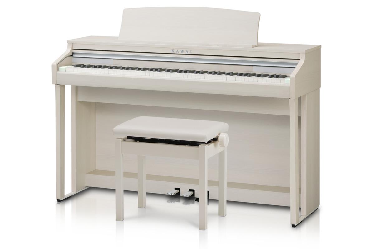 KAWAI カワイ / CA48A プレミアムホワイトメープル調 電子ピアノ (CA-48)【全国組立設置無料】【代引き不可】