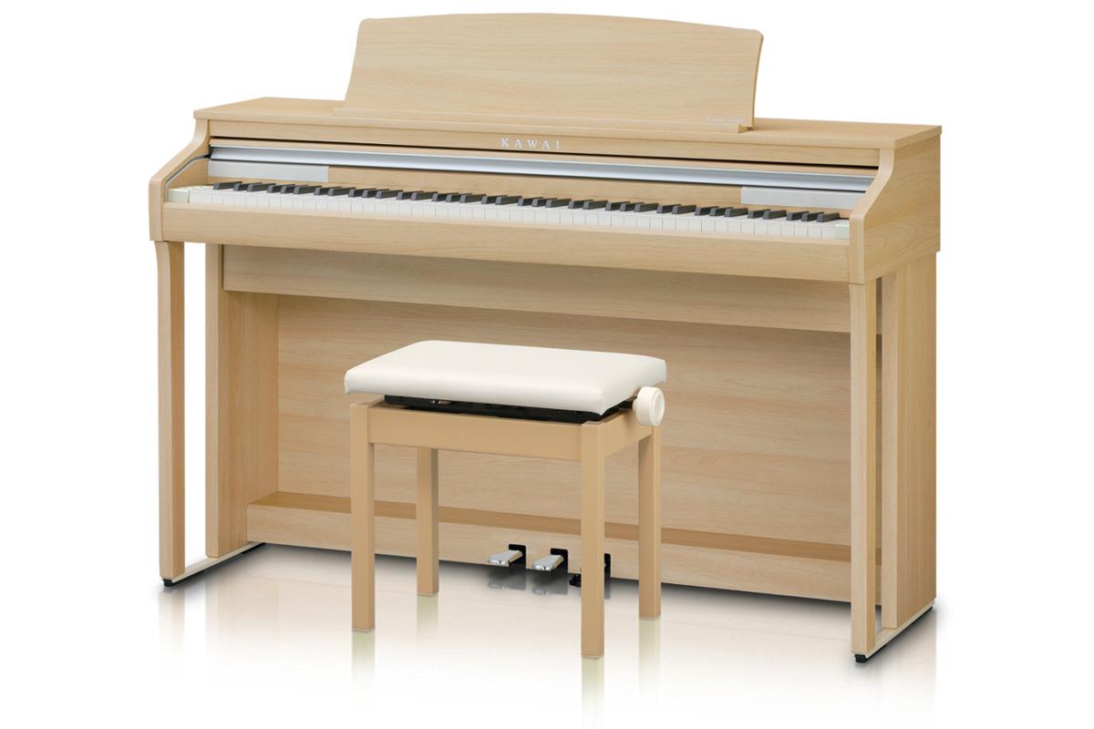 KAWAI カワイ / CA48LO プレミアムライトオーク調 電子ピアノ (CA-48)【全国組立設置無料】【代引き不可】