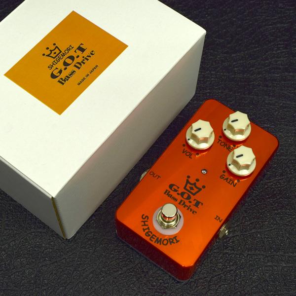 【タイムセール:7月2日12時まで】SHIGEMORI / G.O.T Bass Drive シゲモリ ベース用オーバードライブ