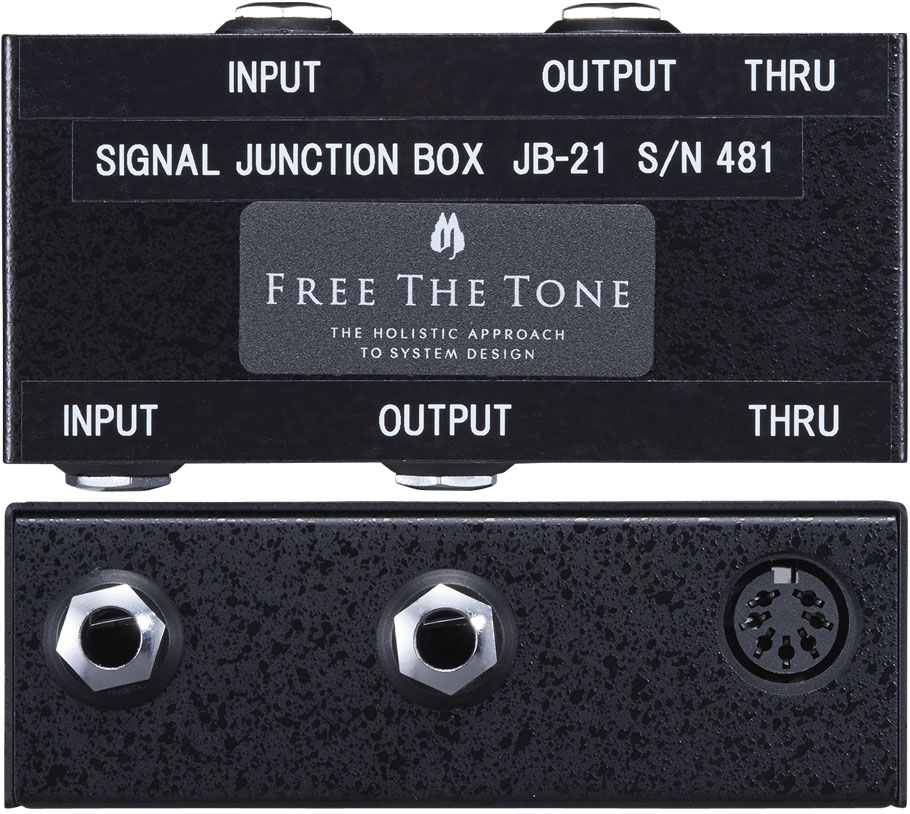 FREE THE TONE / Signal Junction Box JB-21 《受注生産品/納期別途ご案内》