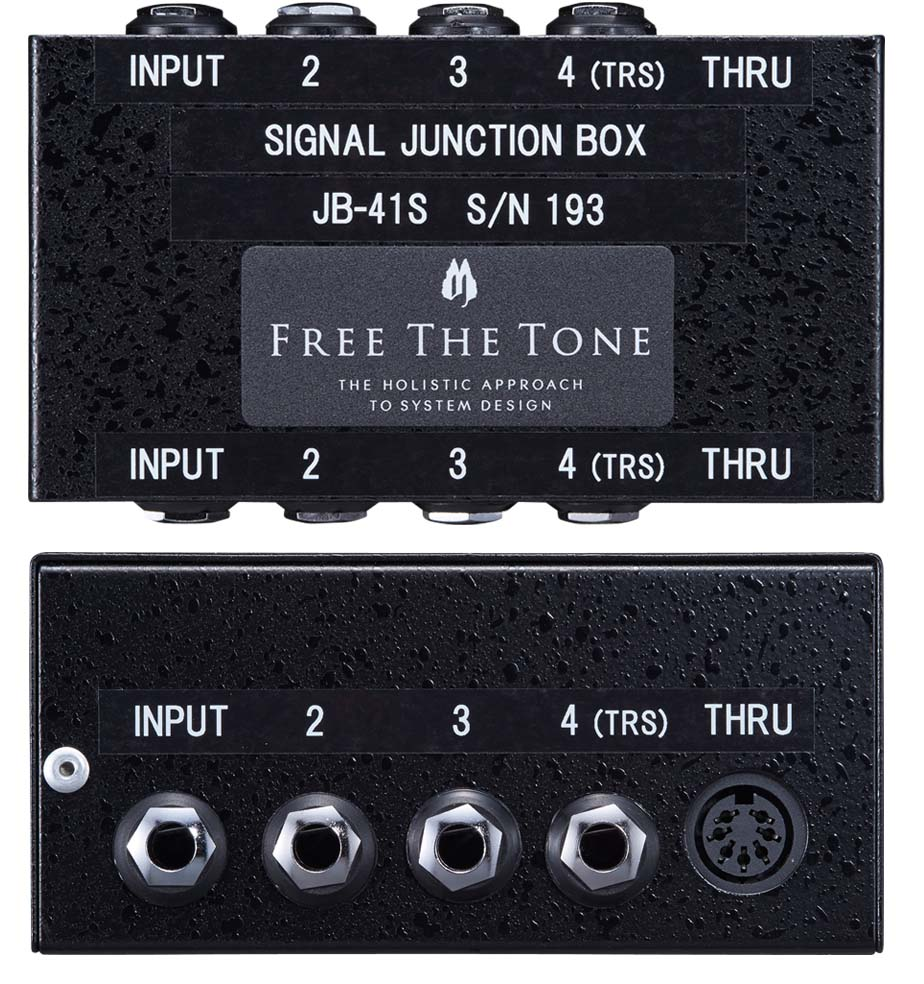 Free The Tone / Signal Junction Box JB-41S ジャンクションボックス 《受注生産品/納期別途ご案内》