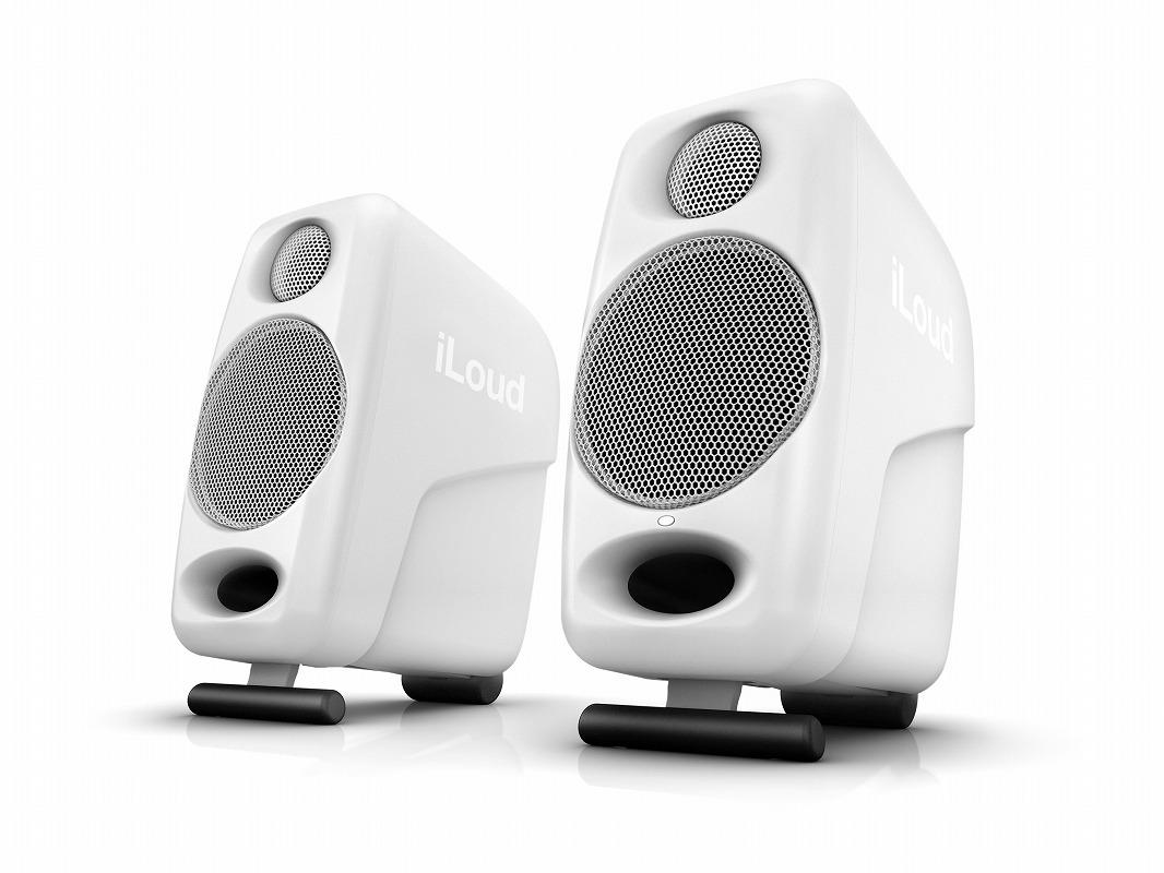 IK Multimedia アイケーマルチメディア / iLoud Micro Monitor White Special Edition ホワイト【数量限定カラー】【お取り寄せ商品】