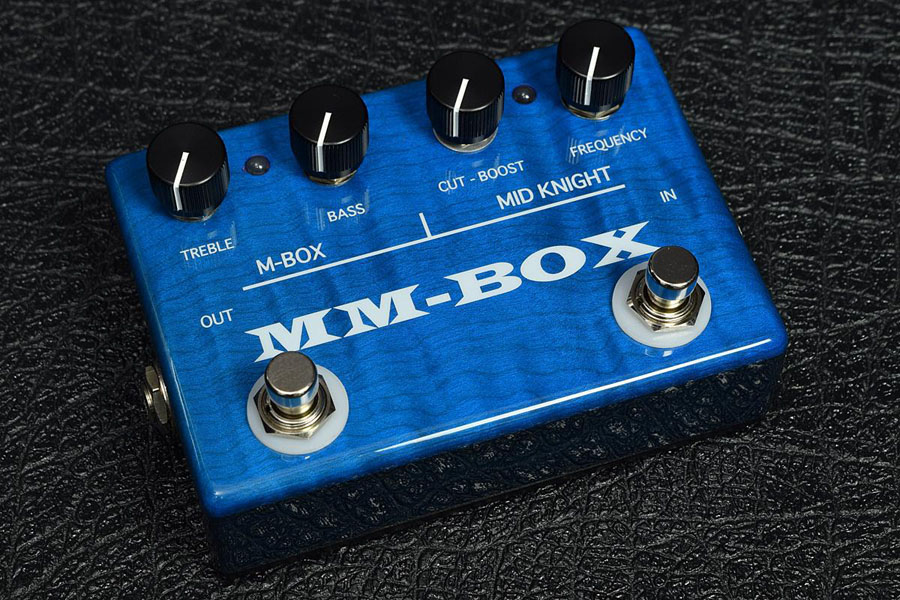 ATELIER Z / OUT BOARD BASS PREAMP MM-BOX Limited TP-BLUE ベースプリアンプ
