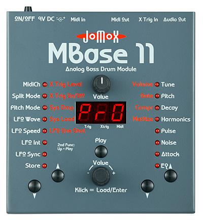 Jomox ジョモックス / MBase11 Analog Bass Drum Module 【お取り寄せ商品】
