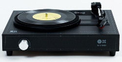 amadana アマダナ / SPINBOX ブラック DIY レコードプレーヤーキット (SBX-B)