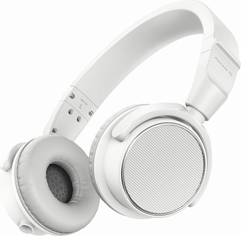 PIONEER パイオニア / HDJ-S7-W ホワイト DJヘッドホン