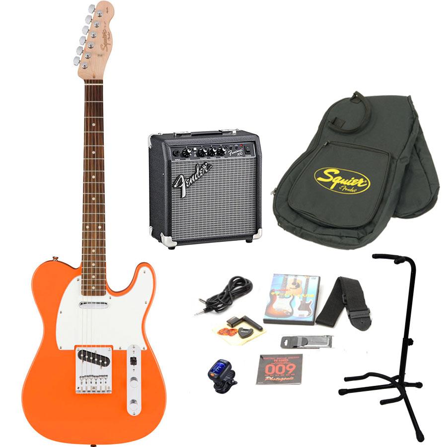 Squier by Fender / Affinity Telecaster Capri Orange エレキギター 初心者15点セット フェンダーアンプSET