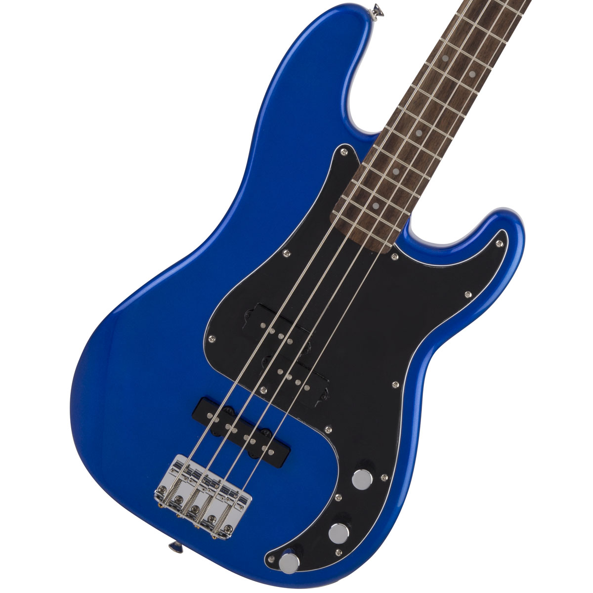 Squier by Fender / Affinity Precision Bass PJ Imperial Blue Indian Laurel