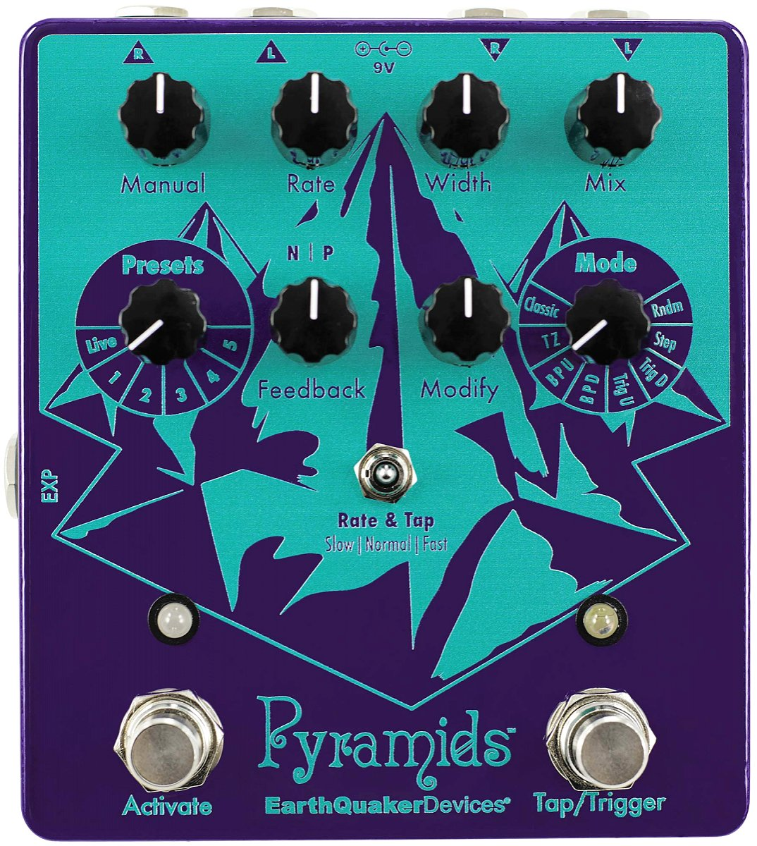 Earthquaker Devices / Pyramids ステレオ フランジャー