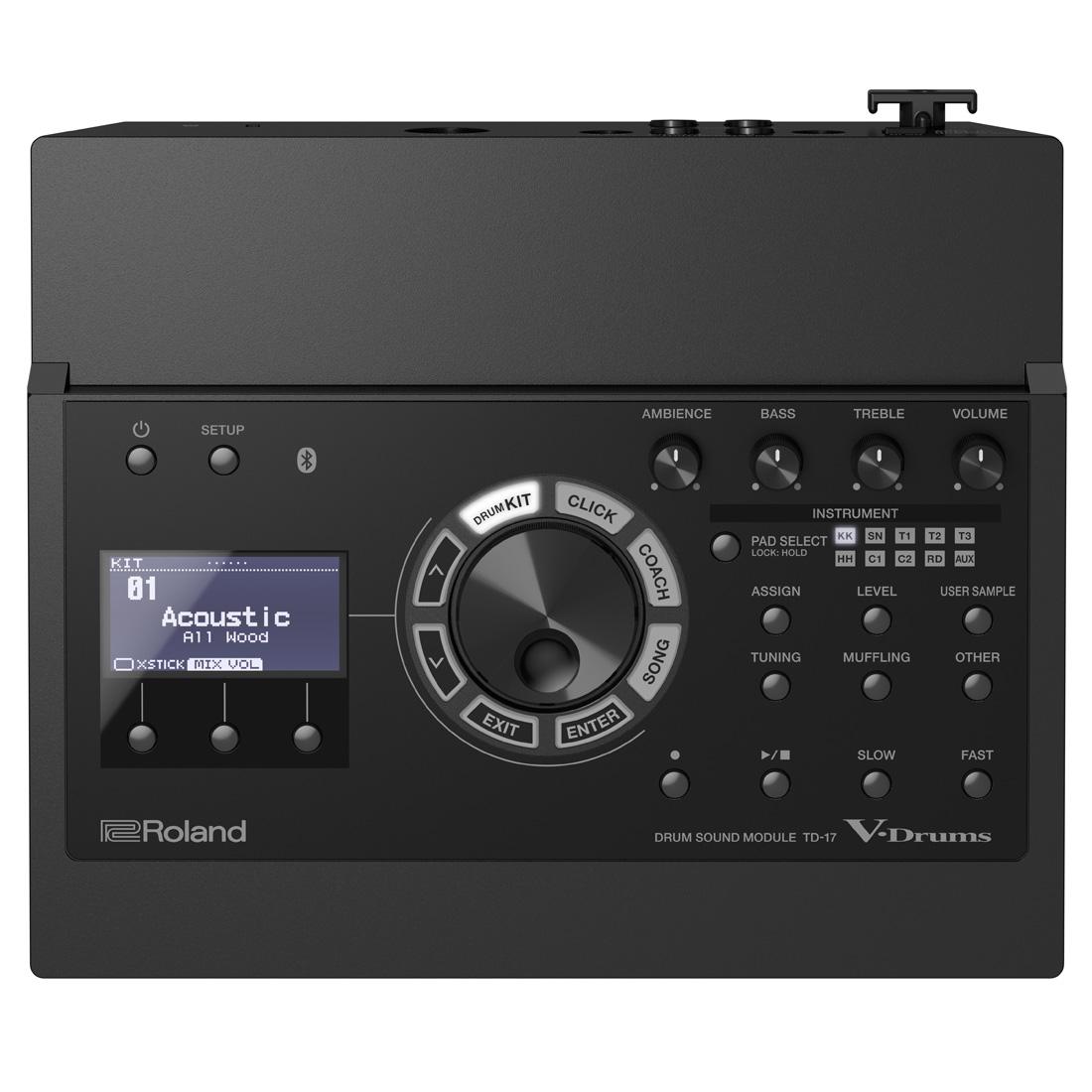 Roland / TD-17 ローランド ドラムサウンドモジュール《予約注文/納期未定/9月~10月以降》【YRK】