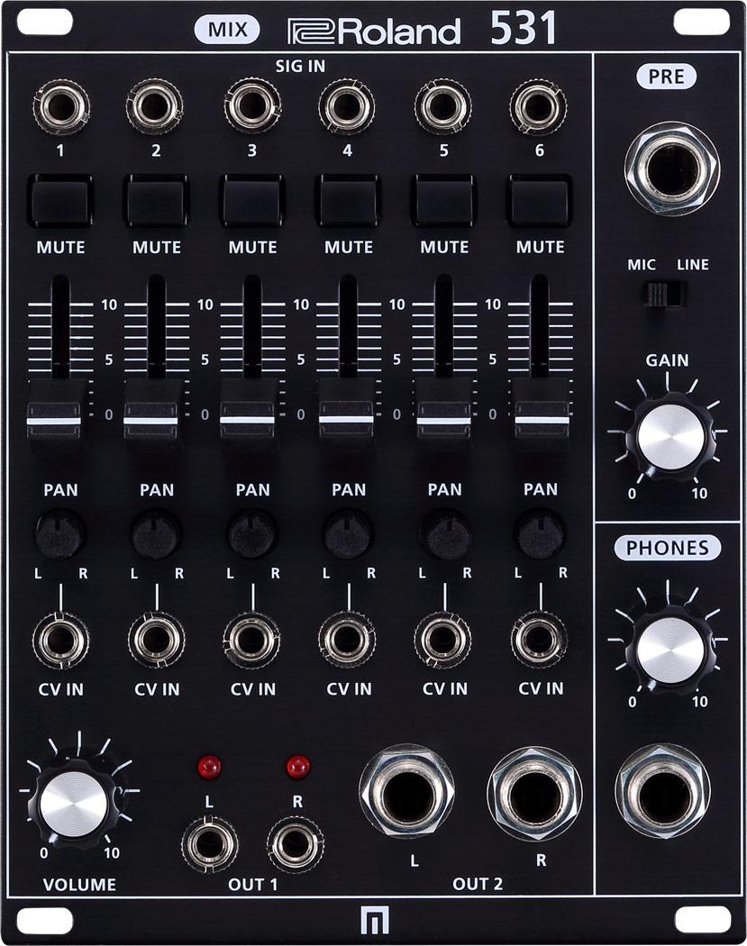 Roland ローランド / SYSTEM-500 531 Modular ミキサー・モジュール (SYS-531 MIX)