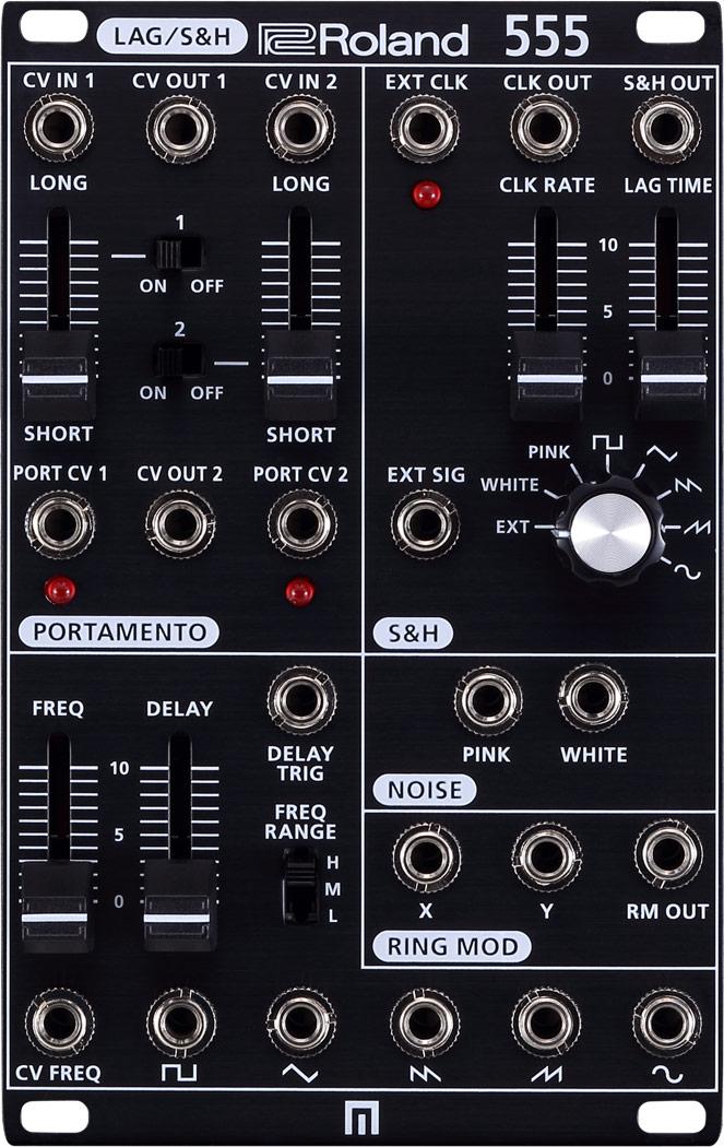 Roland ローランド / SYSTEM-500 555 Modular ユーティリティ・モジュール (SYS-555 LAG/S&H)