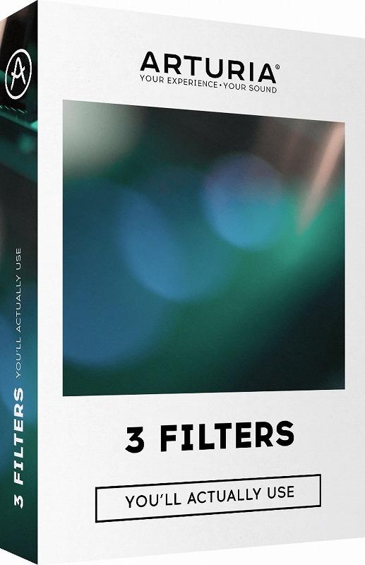 Arturia アートリア / 3 Filters シンセ・フィルター【YRK】