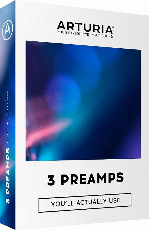 Arturia アートリア / 3 Preamps ビンテージ・プリアンプ【YRK】