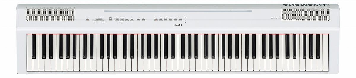 YAMAHA ヤマハ / 電子ピアノ P-125 WH ホワイト(P125)(P-125WH)【YRK】