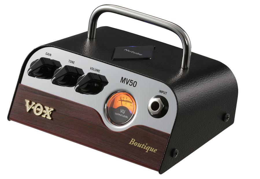 VOX / MV50-BQ Boutique ボックス ギターアンプ Nutube搭載 ヘッドアンプ