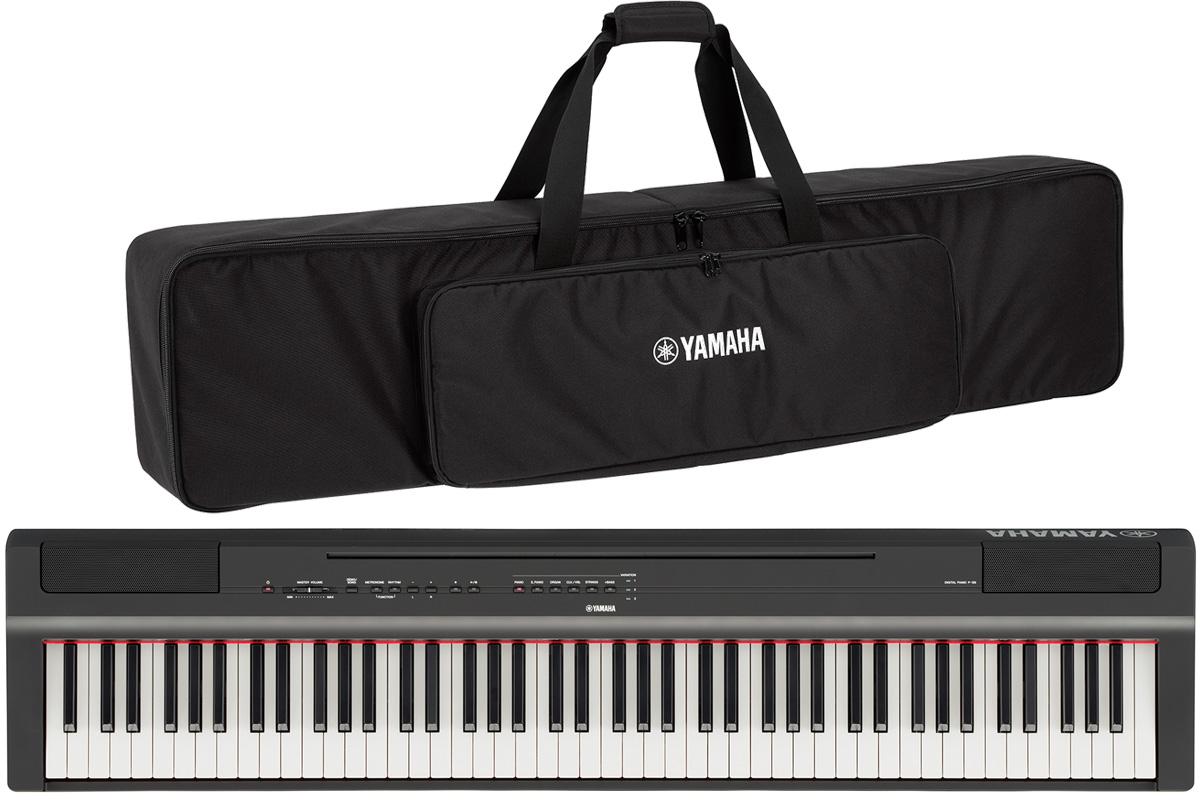 YAMAHA ヤマハ / 電子ピアノ P-125 B 【純正ケースセット】 ブラック(P125)(P-125B)【YRK】