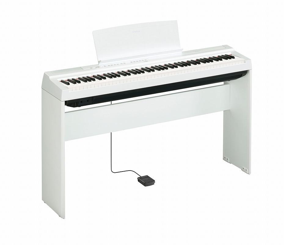 YAMAHA ヤマハ / 電子ピアノ P-125 WH【専用スタンドセット】ホワイト(P125)(P-125WH)【YRK】
