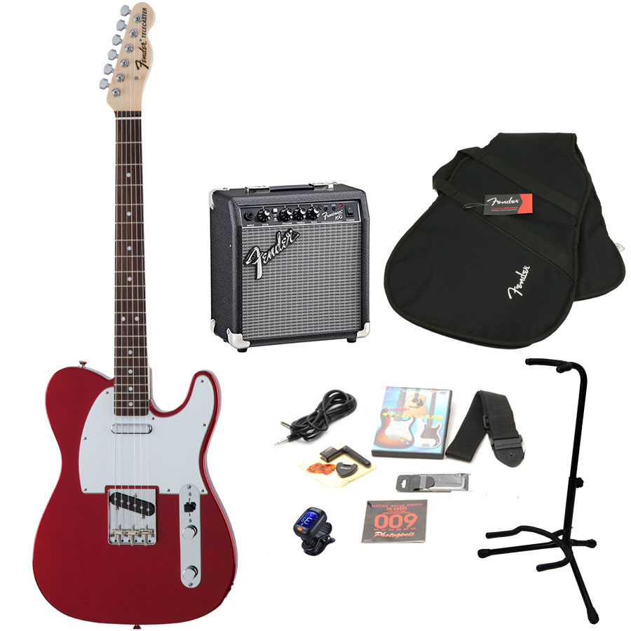 Fender / MIJ Traditional 70s Telecaster Candy Apple Red / R エレキギター 初心者15点セット フェンダーアンプSET