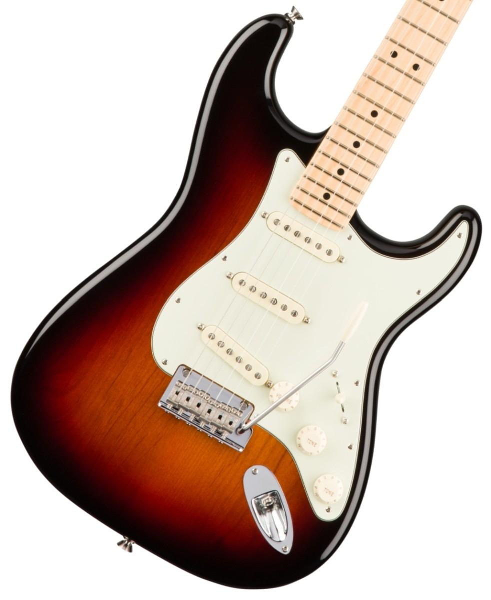 【タイムセール:30日12時まで】Fender USA / American Pro Stratocaster 3 Color Sunburst Maple フェンダー【アウトレット特価】
