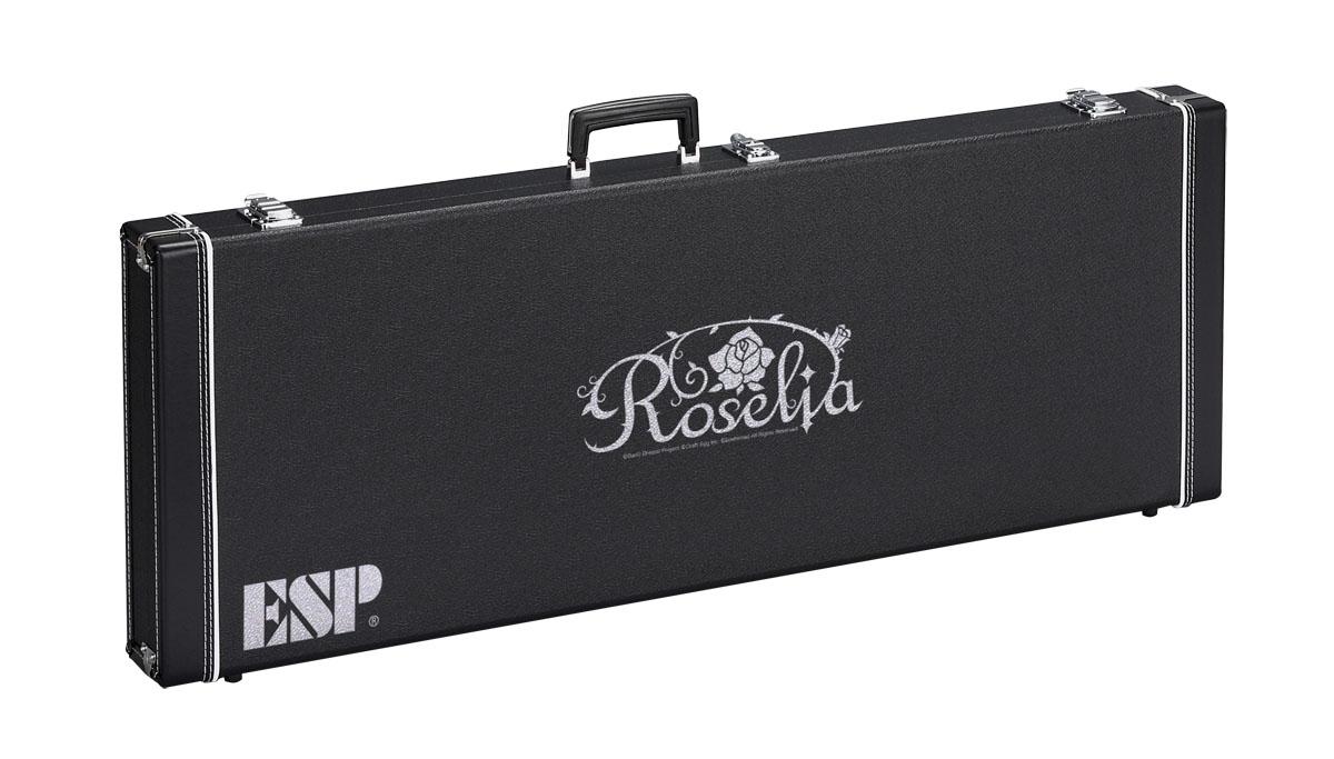 ESP / ロゼリア ロゴ入りハードケース HC-400 ROSELIA-G (M-II SAYO バンドリ! 氷川紗夜 Model 専用) 《予約注文/受注生産品/納期約4カ月~》