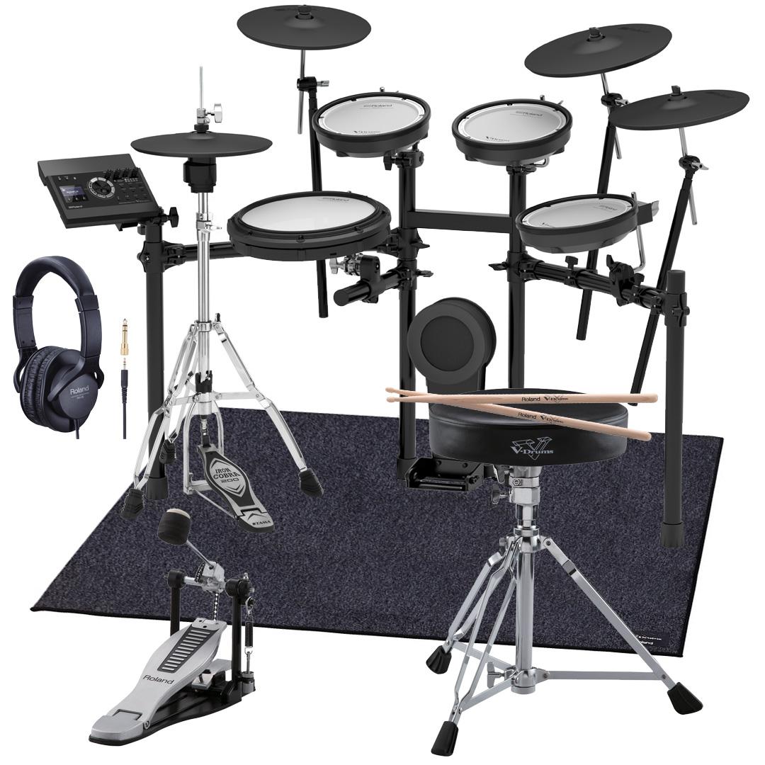 Roland 電子ドラム TD-17KVX-S 純正スターターパック TAMAハイハットスタンド付き【YRK】《予約注文/7月以降入荷予定分》