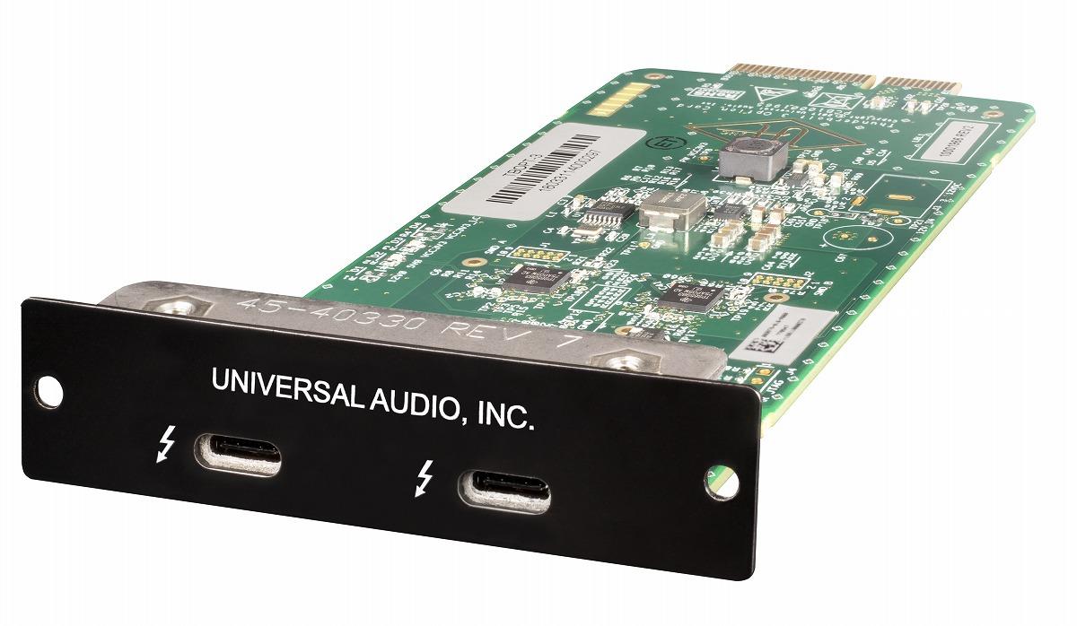 Universal Audio ユニバーサルオーディオ / Thunderbolt 3 Option Card【お取り寄せ商品】