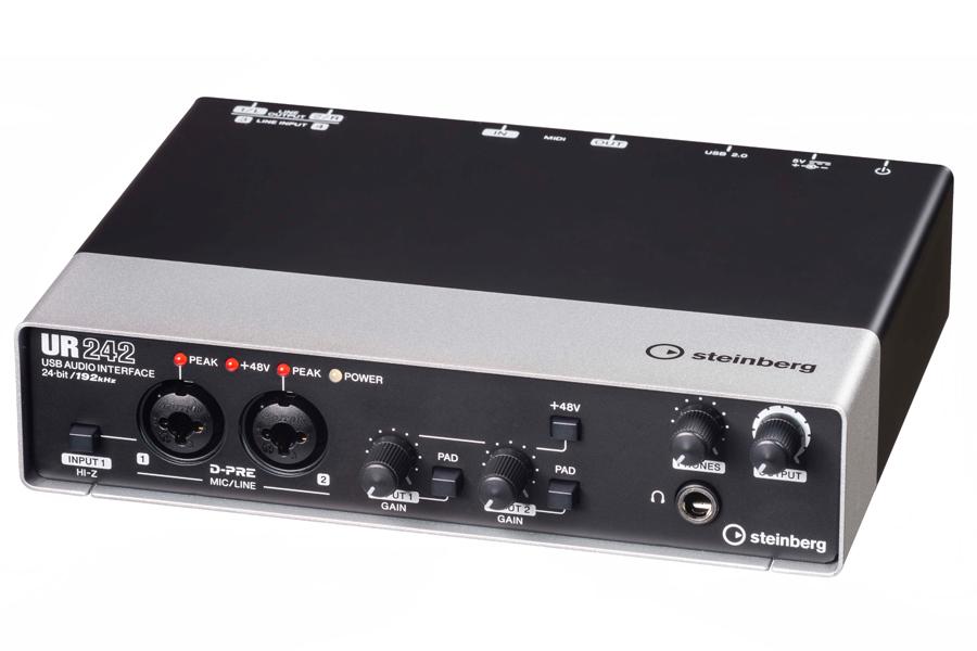 Steinberg スタインバーグ / UR242 オーディオインターフェース(UR-242)