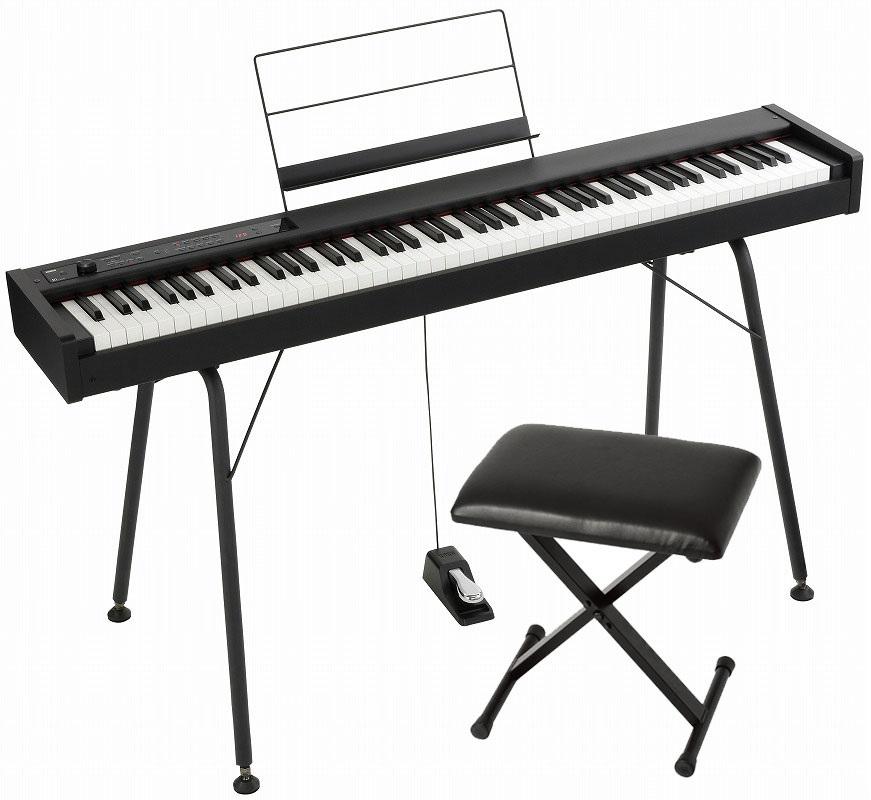 KORG コルグ / DIGITAL PIANO D1 【純正スタンド&椅子セット!】 デジタル・ピアノ《数量限定ワイヤレスヘッドホンプレゼント》【YRK】