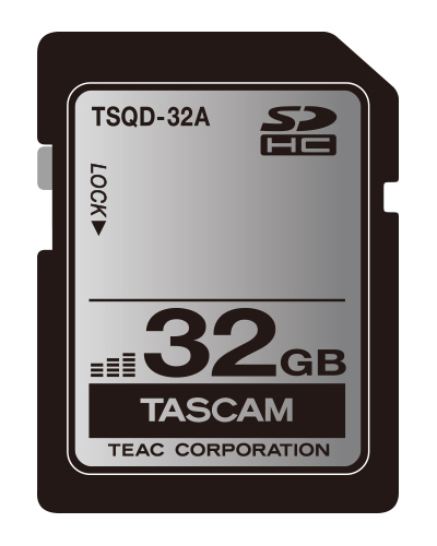 TASCAM タスカム / TSQD-32A SDHCカード(32GB)【お取り寄せ商品】